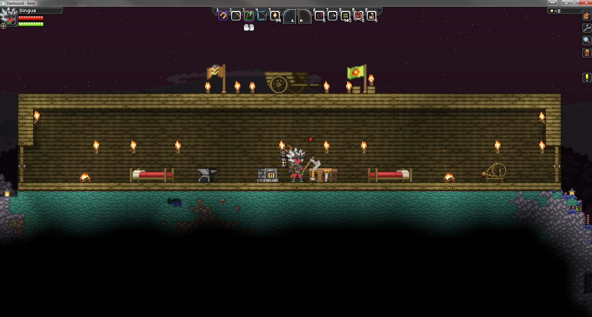 The Starbound Server is BACK