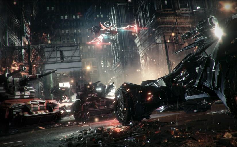 Batman: Arkham Knight New Trailer AND DLC Announcement