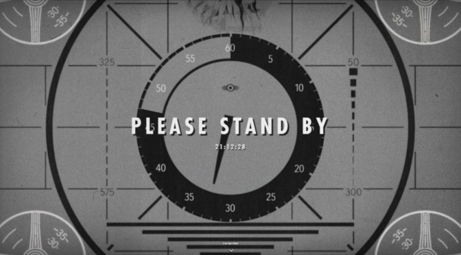 Mysterious Countdown on Fallout Page
