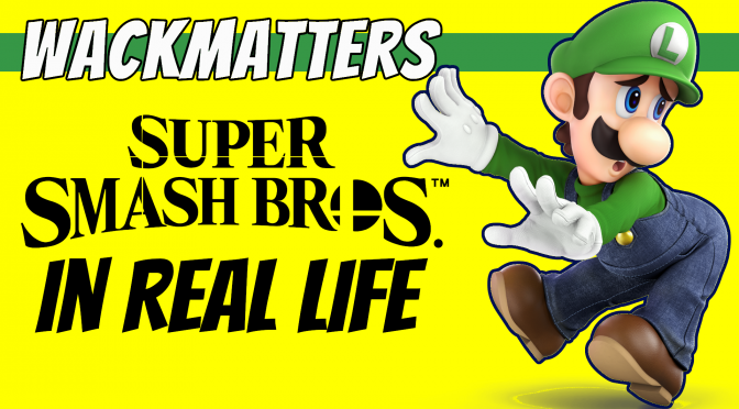 Super Smash Brothers IRL | Luigi