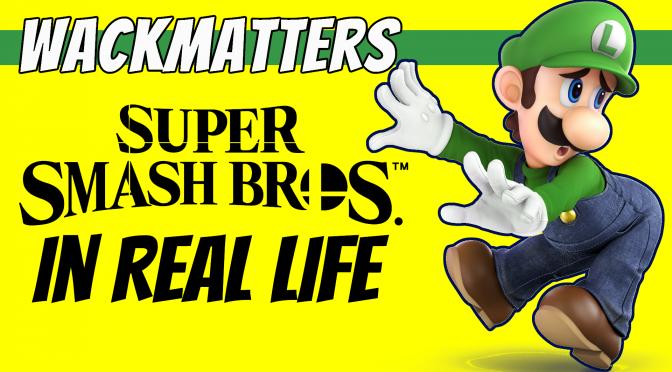 Super Smash Brothers IRL | Luigi