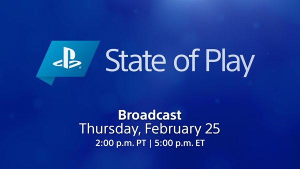 Playstation State of Play || February 25, 2021